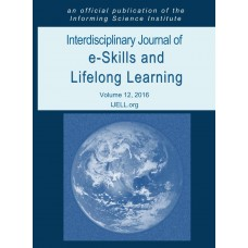 2016 Vol. 12 Interdisciplinary Journal of e-Skills and Lifelong Learning