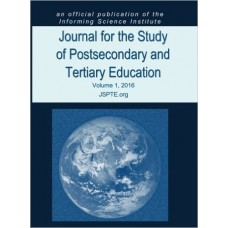 2016 Vol. 1 Journal for the Study of Postsecondary and Tertiary Education