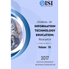 2017 Vol. 16 Journal of Information Technology Education: Research