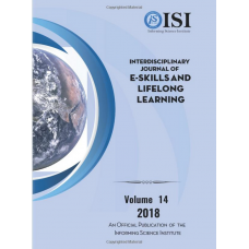 2018 Vol. 14 Interdisciplinary Journal of e-Skills and Lifelong Learning