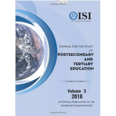 2018 Vol. 3 Journal for the Study of Postsecondary and Tertiary Education