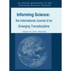 2016 Vol.. 19 Informing Science: the International Journal of an Emerging Transdiscipline