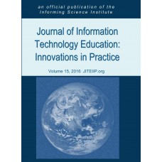 2016 Vol.. 15 Journal of Information Technology Education: Innovation in Practice