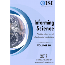 2017 Vol. 20 Informing Science: the International Journal of an Emerging Transdiscipline