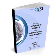 2018 Vol. 15 Issues in Informing Science and Information Technology