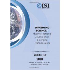 2018 Vol. 21 Informing Science: the International Journal of an Emerging Transdiscipline